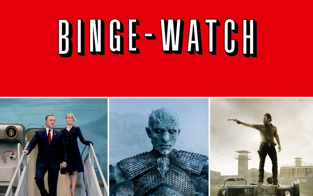 Binge-watching   Top of mind Contenidos