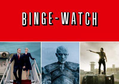 Binge-watching | Top of mind Contenidos