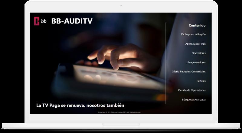 BB lanza el nuevo AUDITV+